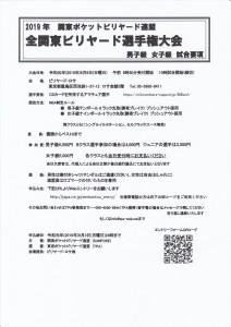 20190609_全関東ビリヤード選手権大会_男子級_女子級